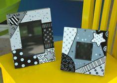 Black and White Frames by ColorsbySherri on Etsy, $45.00