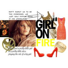 The Girl On Fire.......