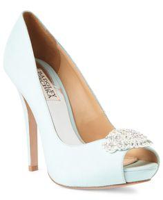 Badgley Mischka Shoes, Goodie Platform Pumps - Shoes - Macy's