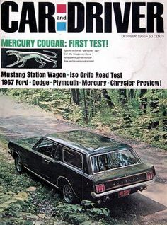 1967 Ford Mustang Station Wagon