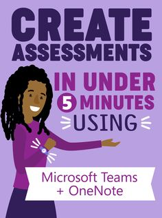 Creating an assessment in Teams and OneNote One Note Microsoft, Microsoft Paint, Microsoft Powerpoint, Microsoft Surface, Microsoft Word, Educational Technology, Teaching Technology, Medical Technology, Technology Gadgets