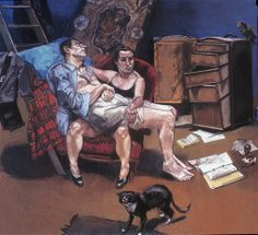 Por amor al arte: Paula Rego Paula Rego Art, Figure Painting, Painting & Drawing, Life Drawing, National Gallery, 1 Peter, Couple Art, Fine Art, Religious Art