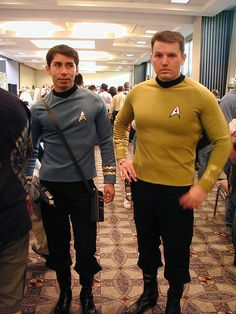 Star Trek cosplayers