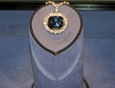 The Hope Diamond is one of the most famous diamonds in the world. It is currently housed in the Smithsonian Natural History Museum in the USA. The Hope Diamond weighs 45.52 carats is graded as VS1, is Dark blue in color.