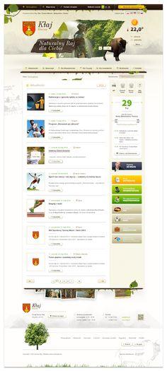 Klaj.pl by Vision Trust, via Behance