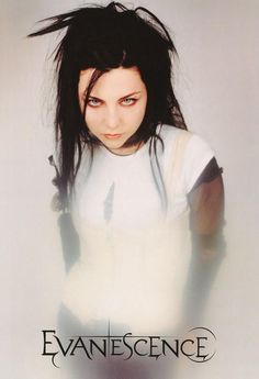 Evanescence Amy Lee White Dress Rare Poster