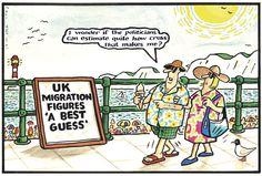 29 July 2013 - Thomas postulates that estimates of immigration are unpopular.