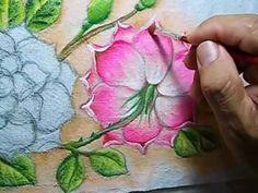 Como Pintar Rosas