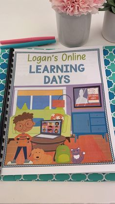 Online learning, distance learning, remote learning...this new format for teaching and learning is a lot for little kids to digest! This social story tells a story about a little boy, Logan, who will be learning from home this year, due to Covid-19. This story is one that students of all ages will be able to relate to and connect with. You can also use the black and white option as a coloring book for students! #distancelearning #remotelearning
