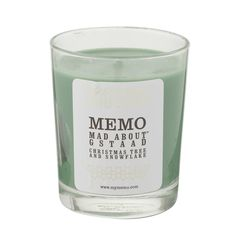 Memo's Mad about Gstaad Candle infuses the scent of pine needles surrounded by a swirling snowstorm of snowflakes amongst Christmas trees. Designed to evoke memories of travelling, dreaming and partying, the Memo candle collection will whisk you away to exotic destinations around the world.