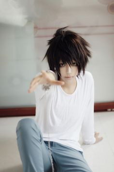 L(DEATH NOTE) | Arthur - WorldCosplay. I'll take your hand and pull you back into the world because it needs people like you to bring justice and life into it