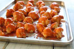 Spicy Buffalo Cauliflower Bites Recipe on Yummly. @yummly #recipe