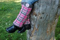 "Crochet Pattern: ""Perfectly Plaid"" Leg Warmers pattern by A Crocheted Simplicity  #mmmakers #acrochetedsimplicity #crochetlegwarmers"