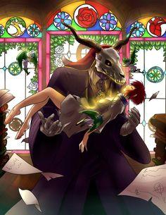 "midnazorart: ""Ancient Magus Bride """