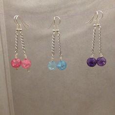 Drop Bead Earrings on Etsy, $7.00 CAD