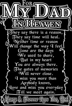 dad in heaven quotes from daughter - Bing images Dad In Heaven Quotes, Miss You Dad Quotes, Daddy In Heaven, Daddy Quotes, Daughter Quotes, Missing Dad In Heaven, Father In Heaven, Dad Sayings, Rip Daddy