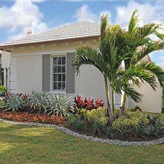 Tropical Garden Photos - # Check more at . - Tropical garden photos – # Check more at … - Florida Landscaping, Florida Gardening, Tropical Landscaping, Landscaping With Rocks, Front Yard Landscaping, Landscaping Ideas, Tropical Gardens, Tropical Backyard, Backyard Ideas