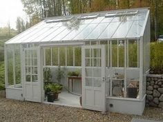 best home greenhouse ** You can get additional info at the image link. Diy Greenhouse Plans, Window Greenhouse, Greenhouse Supplies, Best Greenhouse, Backyard Greenhouse, Greenhouse Wedding, Garden Cottage, Glass House, Dream Garden