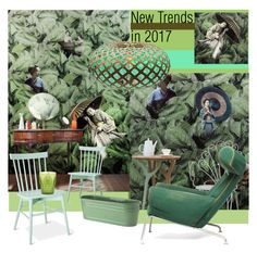 """New trend in 2017"" by nicolevalents ❤ liked on Polyvore featuring interior, interiors, interior design, home, home decor, interior decorating, Vito Nesta, Threshold and David Trubridge"