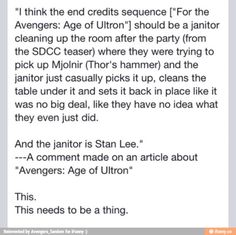 This would have been awesome