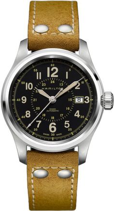 H70595593, , Hamilton khaki field auto 40mm watch, mens