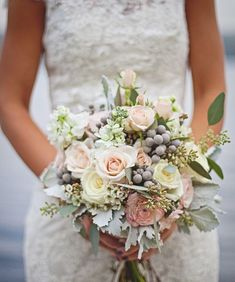 Love this bouquet! Less pink though