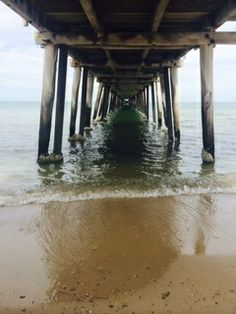 Henley Beach jetty, Adelaide, South Australia