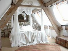 .....attic bedrooms. sigh.