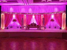 wedding rentals:ceremony Arch:wedding centerpieces Wedding Stage, Arch Wedding, Wedding Backdrops, Ceremony Arch, Wedding Rentals, Stage Design, Wedding Centerpieces, Curtains, Home Decor