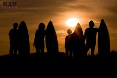 The family that surfs together stays together :) #family #photo via Ryley A Barber Photography #surfing