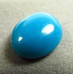 3.86ct Rare Natural Gem Silica Chrysocolla Ray mine 12 x 10 mm Oval Cabochon Cut