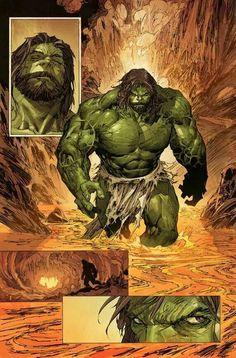 Incredible Hulk by Marc Silvestri. Can we just say, Hulk Jesus Comic Movies, Comic Book Characters, Comic Book Heroes, Marvel Characters, Comic Character, Comic Books Art, Comic Art, Hulk Marvel, Hulk 3