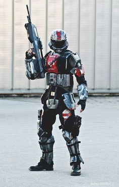 ODST - Halo 3 ODST Costume by FredProps Halo Game, Halo 3, Halo Cosplay, Best Cosplay, Cool Costumes, Cosplay Costumes, Odst Halo, Halo Tattoo, Halo Spartan