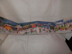 Vtg Advent Calendar L Levison Jr Made in Denmark George Caspari Inc