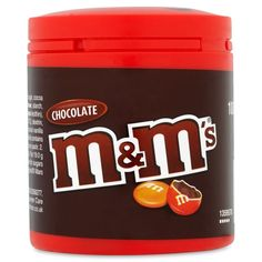 Mars M & Ms    Chocolate centre encased in a sugar shell    100g resealable tub    Morrisons price £1.47 each    BB to follow | Shop this product here: http://spreesy.com/DiscountFoodsofLincoln/319 | Shop all of our products at http://spreesy.com/DiscountFoodsofLincoln    | Pinterest selling powered by Spreesy.com