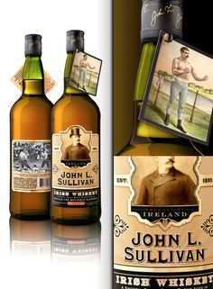 John L. Sullivan Irish Whiskey, looks interesting. Going to have to try this one.