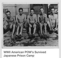 American POW soldiers held in Japanese prison camps were given hardly any food to keep alive. And the Japanese mixed saw dust in the food to make life long intestinal torture if the prisoner made it out alive from camp. Meanwhile, back home during WWII, USA sent the Japanese civilians in America to civilized camps with plenty of food, shelter, medical care etc... during war, to keep Americans safe from Japanese spies with any evil acts they may have planned on American soil.