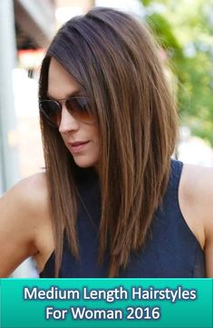 Fabolous Medium Length Hairstyle