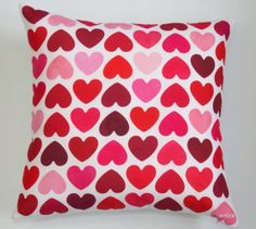 Pillow - cushion - Some shades of love - print on a gabardine decorative pillow (insert included). €30.00, via Etsy.