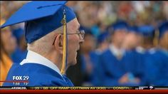 85 Year Old Receives High School Diploma - Philadelphia News, Weather and Sports from WTXF FOX 29