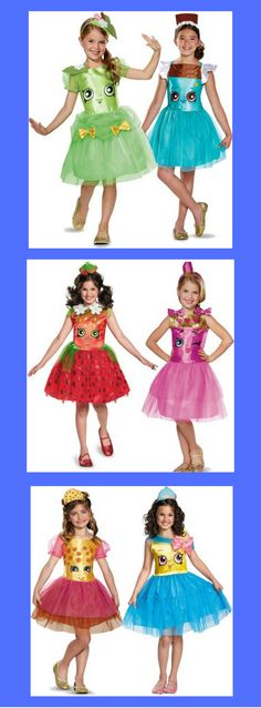 Cute Shopkins Costumes for Girls