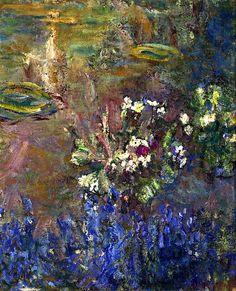 Lilies, Claude Monet, 1918