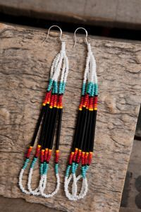 how to make loop seedbed earrings for women - Yahoo Image Search Results