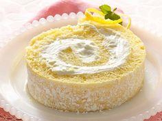 Lemon Cream Cake Roll