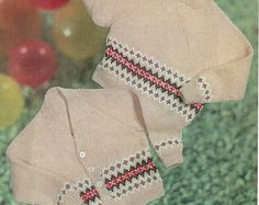 baby jacket trousers & bottees knitting pattern by Minihobo