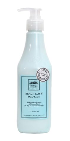 My current obsession #GHCBeachDays Good Home Beach Days Hand Lotion