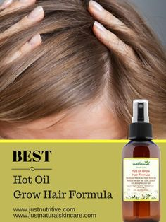 Not only are hot oil treatments good to help hair grow fast, the blend of oils in this treatment adds moisture, softness, shine and body to your hair.