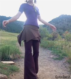Mini Pixie Skirt by ElvenForest on Etsy