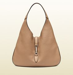 Simple & beautiful - Gucci - jackie soft leather hobo