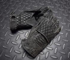 #4SR #biker #gloves #Scrambler #Shadow